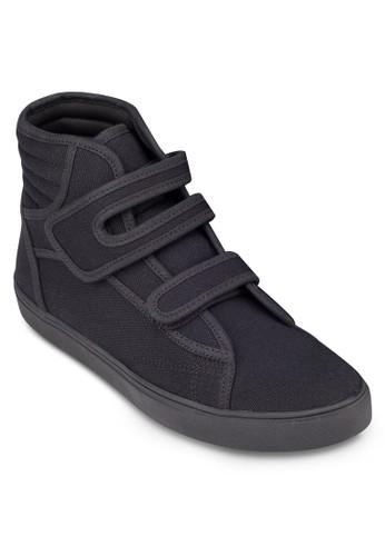 魔鬼氈帆布高筒休閒鞋, zalora taiwan 時尚購物網鞋, 休閒鞋