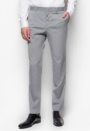 貼身直zalora 評價筒西裝長褲, 服飾, 服飾