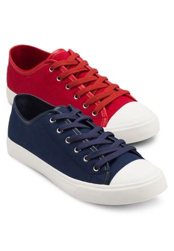二入組帆布繫帶zalora 評價運動鞋, 鞋, 休閒鞋