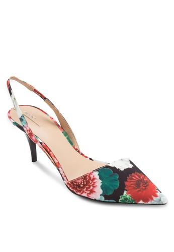 Azalora時尚購物網評價ntica 尖頭繞踝高跟鞋, 女鞋, 鞋