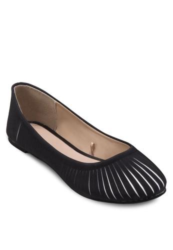 zalora鞋子評價雙色鏤空娃娃鞋, 女鞋, 鞋