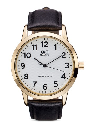 Q&Q Qzalora 男鞋 評價946J104Y 拋光數字手錶, 錶類, 飾品配件