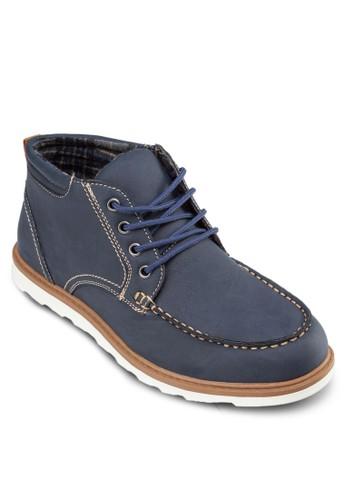 Aiden 繫帶踝zalora時尚購物網評價靴, 鞋, 靴子