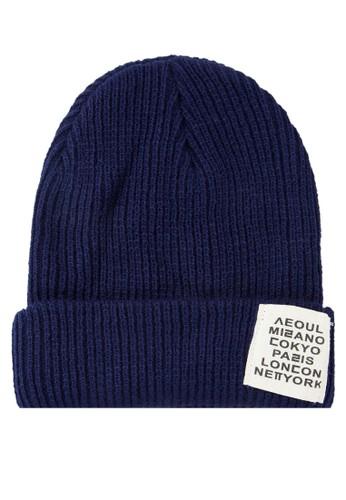 Kevin 反折針織毛帽, 飾品配件, 毛線zalora 心得帽