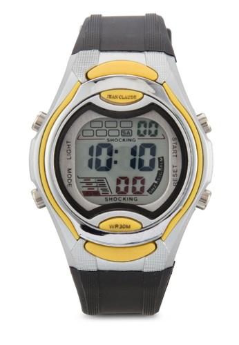 中性糖果色電子錶, zalora 包包評價錶類, 其它錶帶