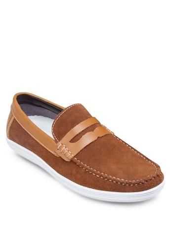 皮革樂福鞋, 鞋, zalora 手錶船型鞋