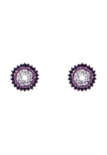 水晶花耳環, 飾品配件, 飾zalora 心得品配件