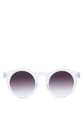 圓框太陽眼鏡, zalora 心得飾品配件, 飾品配件