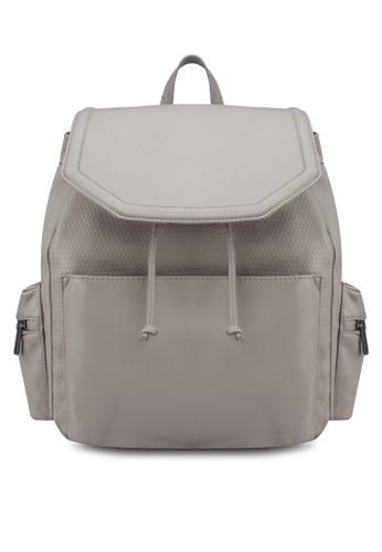 暗zalora 包包評價紋休閒後背包, 包, 後背包