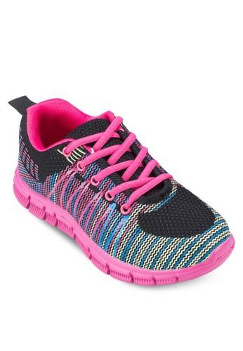 混色繫帶運動鞋, 女鞋,zalora taiwan 時尚購物網鞋子 鞋