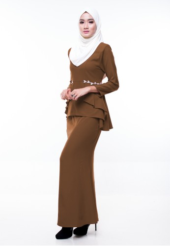 Ariel Mini Kurung from CIPTA in Brown