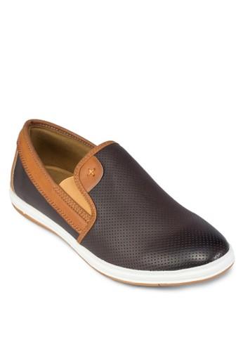 雙色休閒懶人鞋, 鞋, zalora 衣服尺寸船型鞋