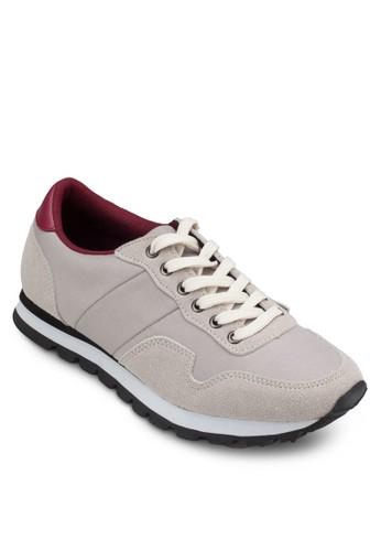 異材質拼接休閒鞋, 女zalora鞋子評價鞋, 休閒鞋