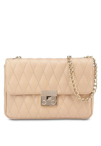 軟襯仿皮翻蓋斜背包,zalora時尚購物網評價 包, 飾品配件