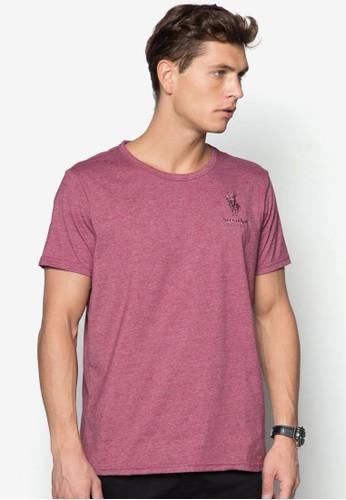 短袖圓領zalora 鞋評價TEE, 服飾, T恤