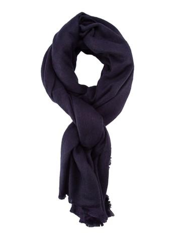 素zalora 評價色流蘇圍巾, 飾品配件, 披肩