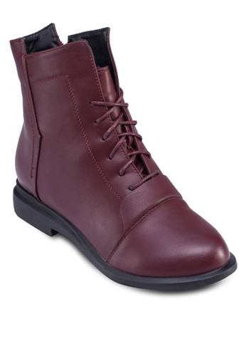 時尚繫帶踝靴, 女鞋, zalora 男鞋 評價鞋