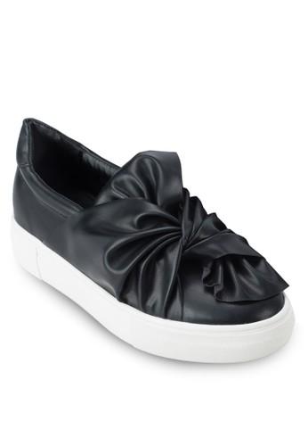 抓皺扭結厚zalora鞋子評價底懶人鞋, 女鞋, 懶人鞋