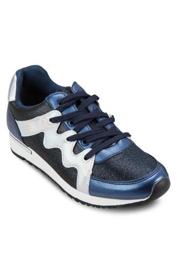zalora退貨Squiggle Textured Sneaker, 女鞋, 休閒鞋