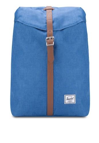 袋蓋扣環飾帶後背包, 包, 後揹zalora 衣服尺寸包