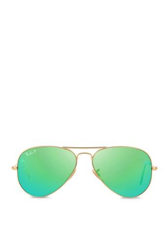 Aviator 反光偏光鏡片太陽zalora 鞋評價眼鏡, 飾品配件, 飾品配件