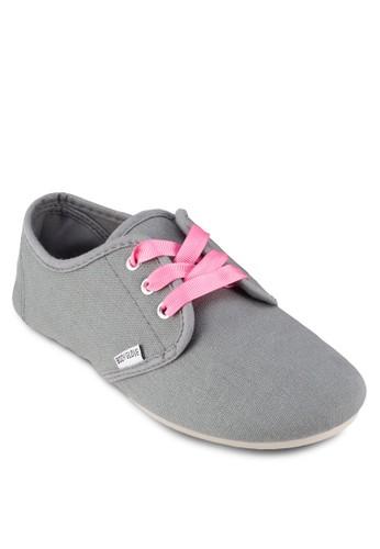 Pheon 撞色繫帶運動鞋, 女鞋,zalora退貨 休閒鞋