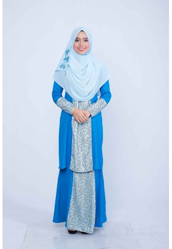 Mini Kurung Dariea from ADAMA COLLECTIONS in Blue
