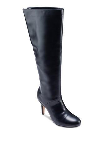 及膝拉鍊有跟zalora 台灣高筒靴, 女鞋, 靴子