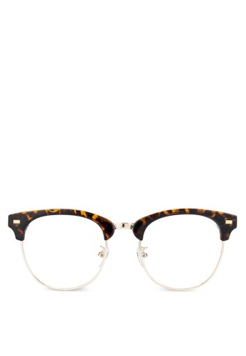Mr. Edward 半框平光眼鏡zalora 心得, 飾品配件, 飾品配件