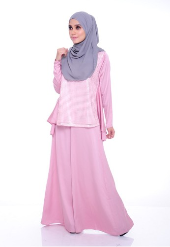 Teratai Flare Suit - Pink from Aireen in Pink