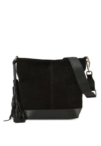 仿麂皮斜背包,zalora 包包評價 包, 飾品配件