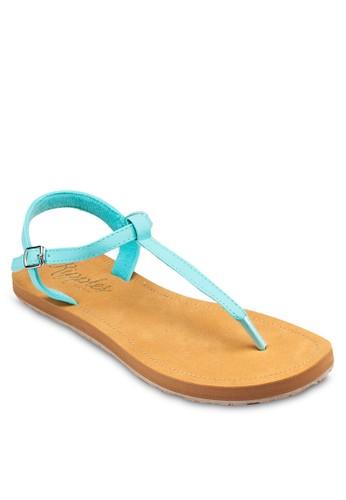 Dawn zalora退貨繞踝夾腳涼鞋, 女鞋, 鞋