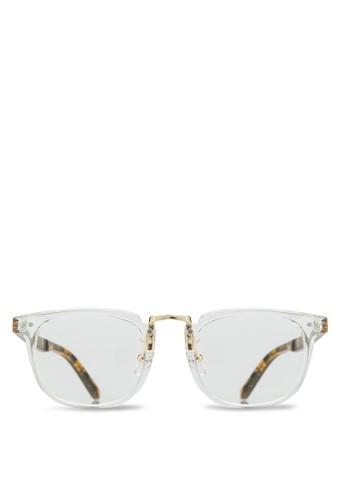 韓系時尚平zalora開箱光眼鏡, 飾品配件, 飾品配件