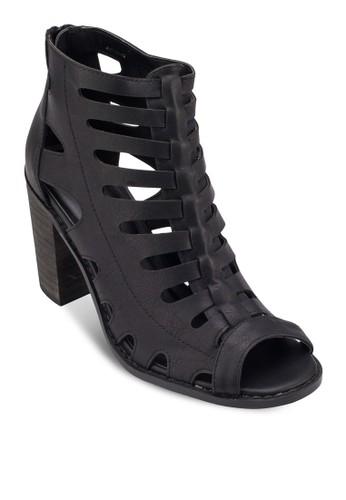 Marissa Cut zalora鞋Out Heels, 女鞋, 魚口鞋