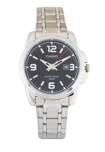 LTP-1314D-1AVDF 不銹鋼圓錶, 錶類zalora taiwan 時尚購物網鞋子, 不銹鋼錶帶