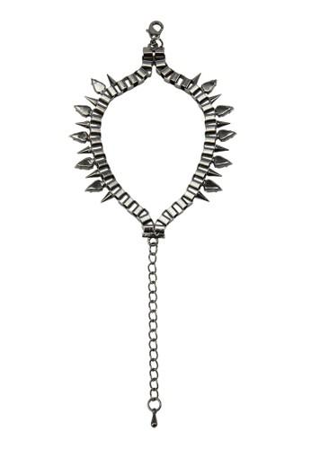 尖釘墜鏈手鍊, zalora 台灣飾品配件, 飾品配件