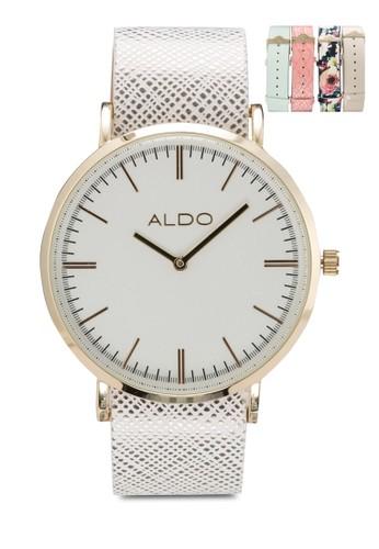 Alelade 雙指針圓框錶, 錶類, 飾aldo 台北品配件