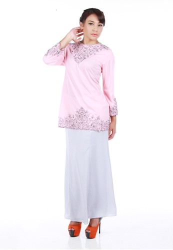 Alana Kurung Modern from La Penderie by fs in Pink