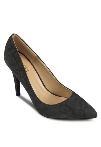 Leah 經典尖頭高跟鞋,zalora鞋 女鞋, 厚底高跟鞋