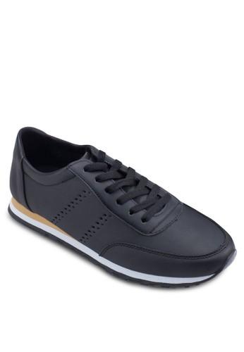 穿孔仿皮繫帶zalora taiwan 時尚購物網鞋子運動鞋, 鞋, 鞋