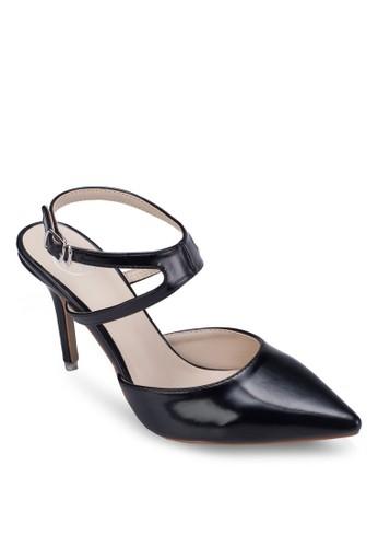 尖頭繞踝細跟高跟鞋, 女zalora 台灣鞋, 細帶高跟鞋