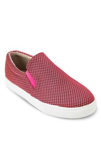 網眼帆布厚底懶人鞋, 女zalora鞋子評價鞋, 休閒鞋