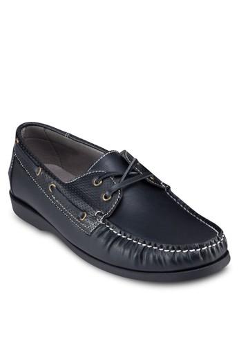 沖孔繫zalora 順豐帶船型鞋, 鞋, 鞋