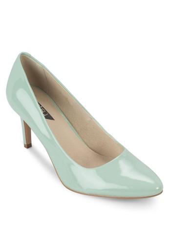 基本款尖頭中跟鞋, 女鞋,zalora 衣服尺寸 鞋