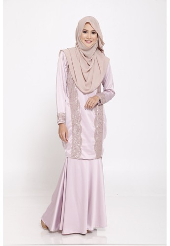 Orla Kurung from KEVAY.CO in Pink