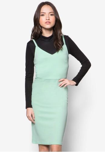 Reese 細肩帶連身裙,zalora 包包 ptt 服飾, 洋裝