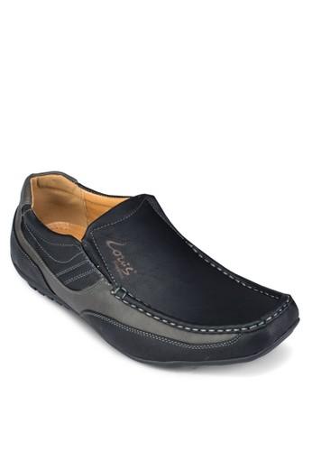 仿zalora 衣服評價皮方頭樂福鞋, 鞋, 鞋
