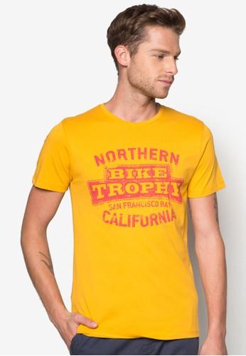 文字印花T 恤,esprit網路 服飾, 印圖T恤