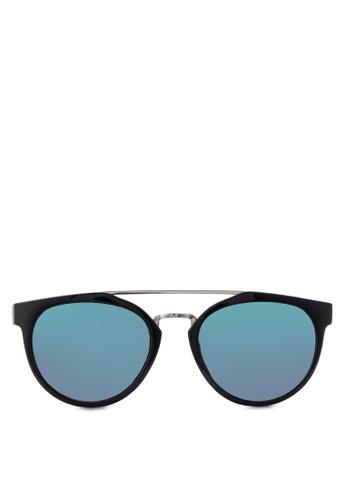 鏡面太陽zalora 鞋評價眼鏡, 飾品配件, 復古框
