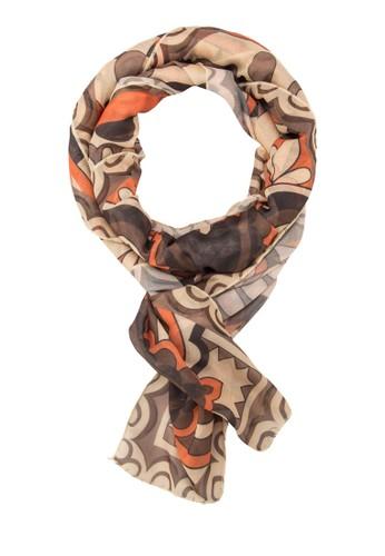 印花絲巾, zalora退貨飾品配件, 披肩